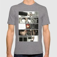 The Reichenbach Fall Mens Fitted Tee Tri-Grey SMALL