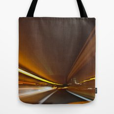 Traffic in warp speed Tote Bag