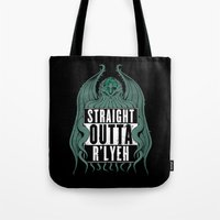Straight Outta R'lyeh Tote Bag