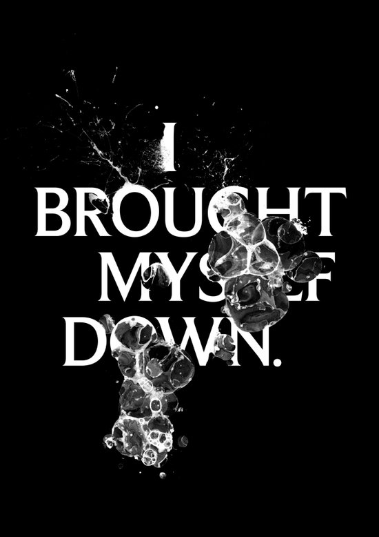 Nixon 01: I Brought Myself Down Art Print