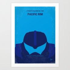 No306 My Pacific Rim minimal movie poster Art Print