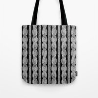 Cable Row B Tote Bag