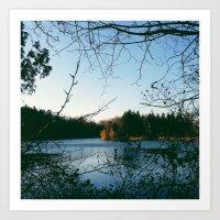 Kingswood Lake Art Print