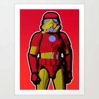 Iron Trooper Art Print