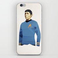 Polygon Heroes - Spock iPhone & iPod Skin