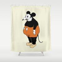 Mickey Da Rat Shower Curtain