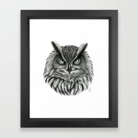 Owl G2012-046bis Framed Art Print