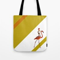 Baby you can ride my flamingo Tote Bag