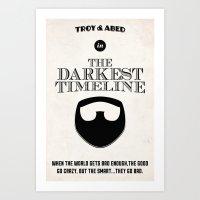 Community - The Darkest Timeline Art Print