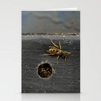 Yellow Jackets Stationery Cards