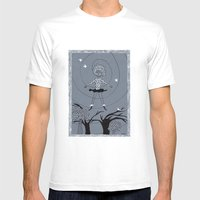 Torbellino Mens Fitted Tee White SMALL