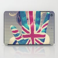british flag love iPad Case