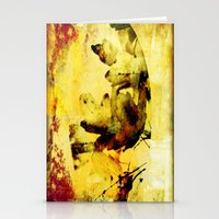 Burned Colors Stationery Cards