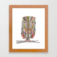 I CAN SEE IN THE DARK Framed Art Print