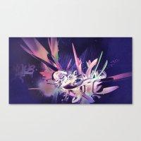 Defff (Noche) Canvas Print