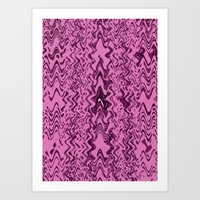 Spattern2 Art Print