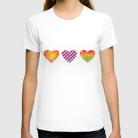 hearts T-shirts featuring hearts by Li-Bro