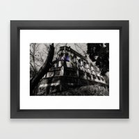 A Gothic Chapel Framed Art Print