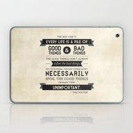 Good Things & Bad Things Laptop & iPad Skin