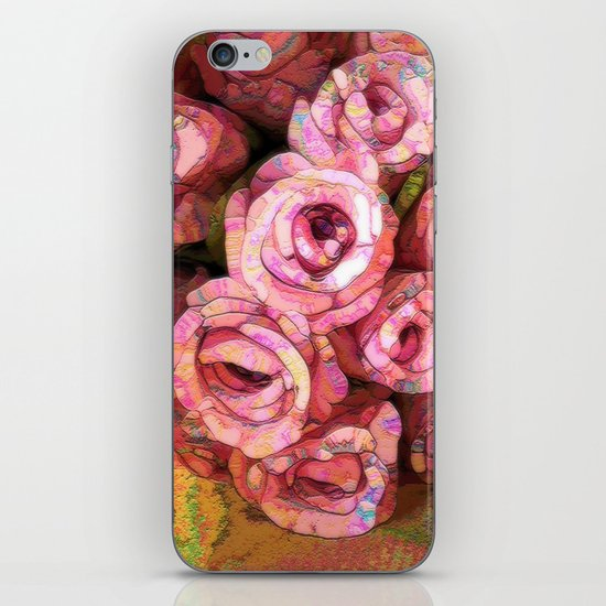 Vintage Wild Roses iPhone & iPod Skin