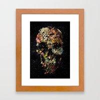 Smyrna Skull Framed Art Print