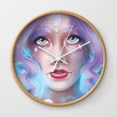 Lady Bubble Wall Clock