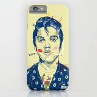 iPhone & iPod Case featuring WTF? ELVIS MORNING PARTY by kravic
