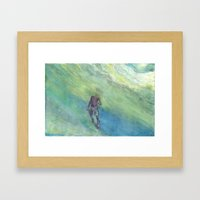 Snorkel Framed Art Print