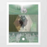 Death of a Cult Art Print