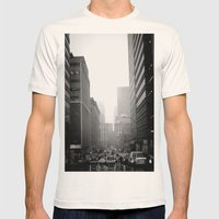 City City Mens Fitted Tee Natural SMALL