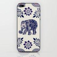 Elephant Pink iPhone & iPod Skin