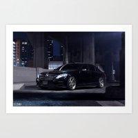 Mercedes Benz S550 Art Print
