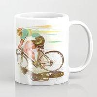 The Sprinter, Cycling Ed… Mug