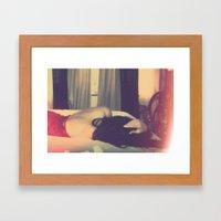 Dear Whisperly Framed Art Print