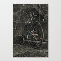 Long ride Canvas Print