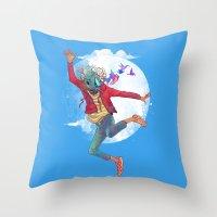 BIRDMAN Throw Pillow