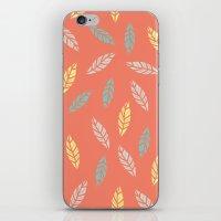 Fall Feathers iPhone & iPod Skin