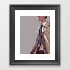 In Plumed Procession Framed Art Print