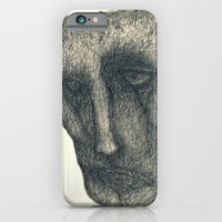iPhone & iPod Case featuring The sad by Attila Hegedus