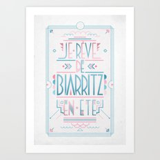 REVE Art Print