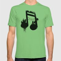 FIESTA Mens Fitted Tee Grass SMALL