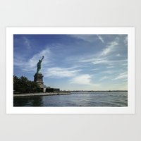 Statue of Liberty 3. Art Print