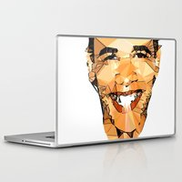 obama Laptop & iPad Skins featuring ICONS: Obama by LeeandPeoples