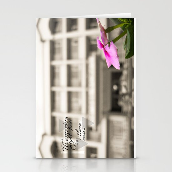 Memories always exist Stationery Card