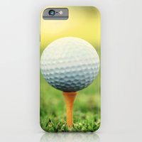 iPhone & iPod Case featuring Golf Ball on Tee by Eye Shutter to Think