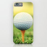 Golf Ball On Tee iPhone 6 Slim Case