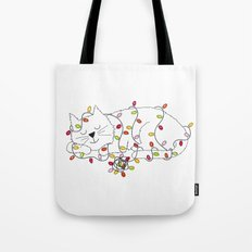 Christmas Nap Tote Bag