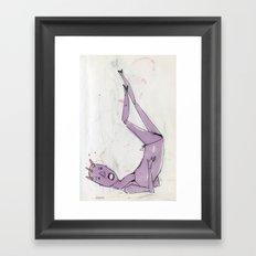 sexy ladies 3 Framed Art Print