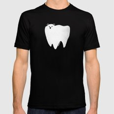 Molar Bear SMALL Mens Fitted Tee Black