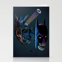 destructured hero#1 Stationery Cards